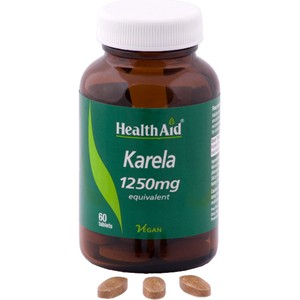 HealthAid Karela Extract 1250mg Tablets