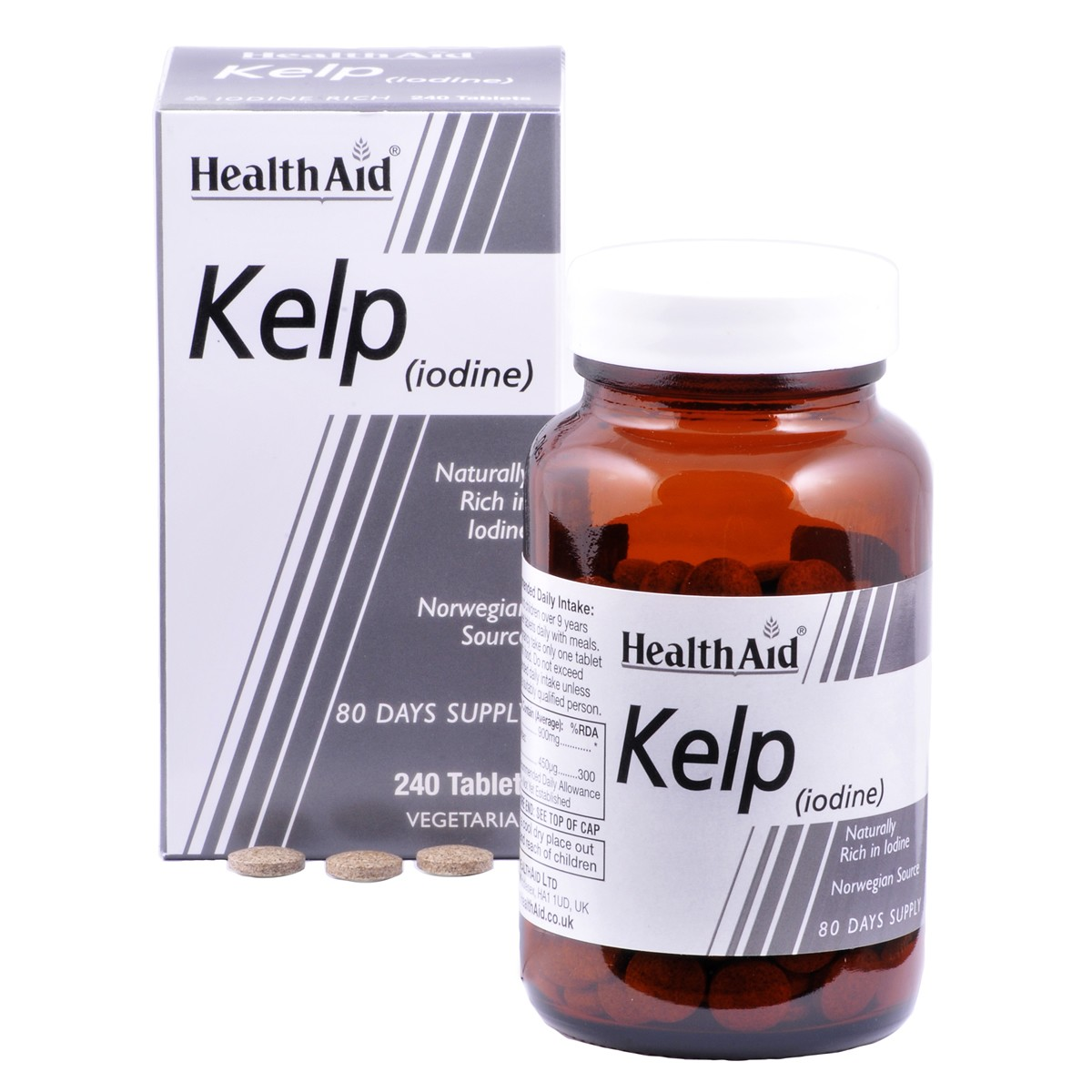 HealthAid Kelp (Iodine)