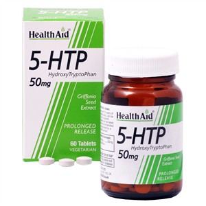 HealthAid L-5 Hydroxytryptophan (L - 5HTP) 50mg - Prolonged Release
