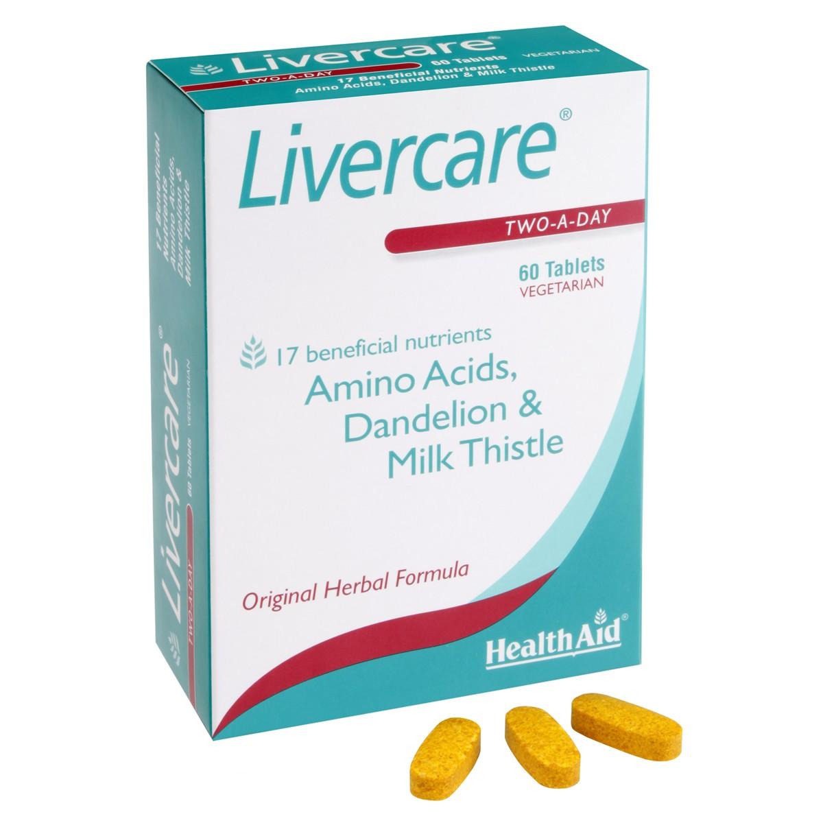 HealthAid Livercare Blister Pack