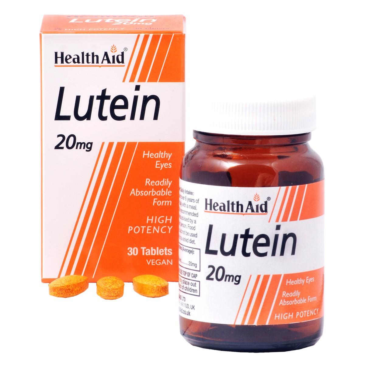 HealthAid Lutein 20mg