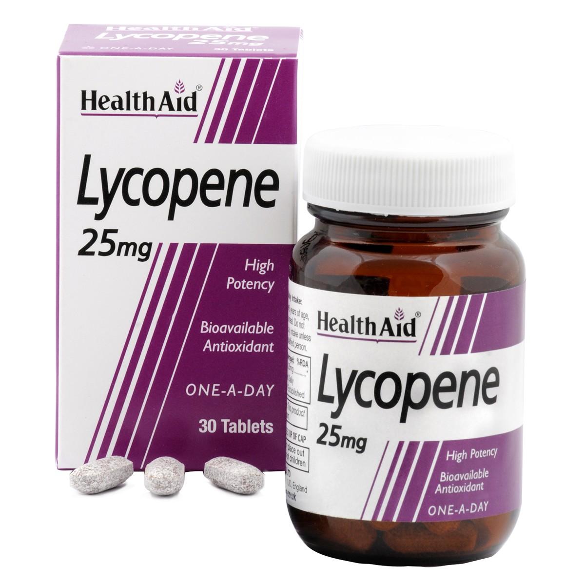 HealthAid Lycopene 25mg