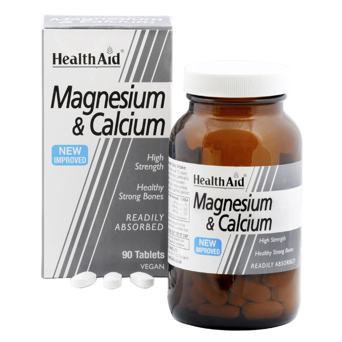 HealthAid Magnesium & Calcium