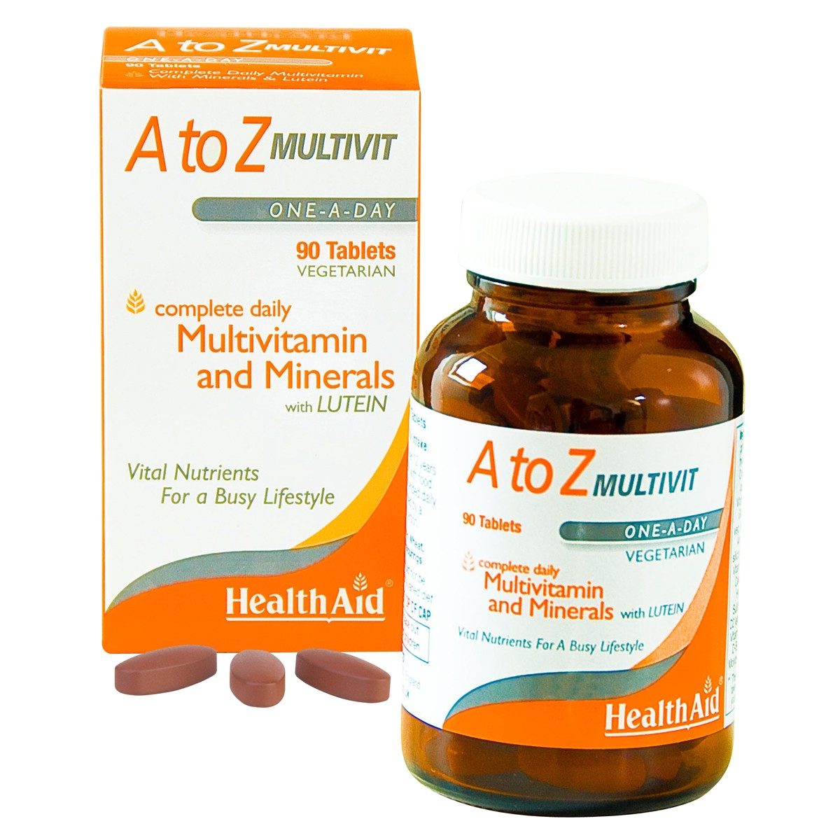 HealthAid A to Z Multivitamins and Minerals with Lutein