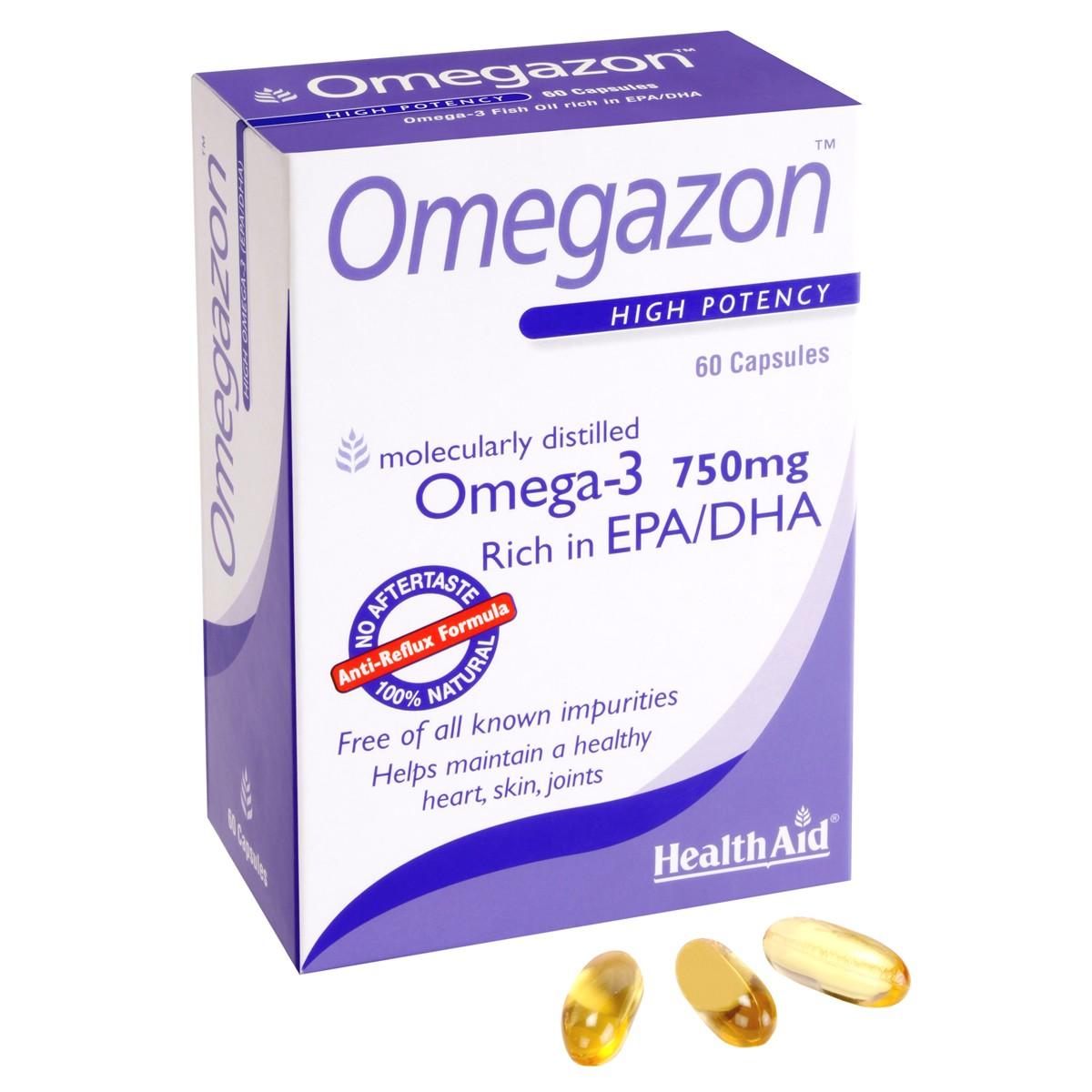 HealthAid Omegazon (Omega 3 Fish Oil) - Blister Pack