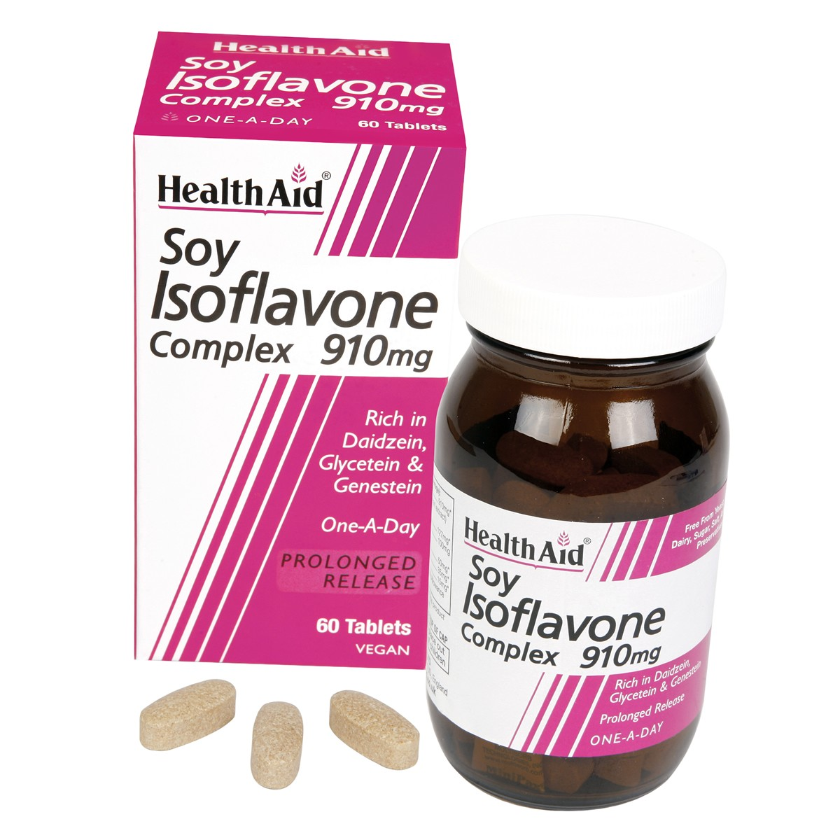 HealthAid Soya Isoflavone Complex 910mg Tablets