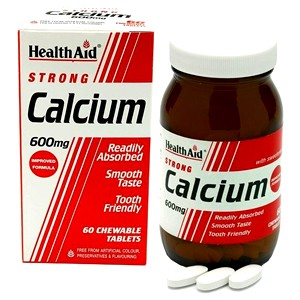 HealthAid Strong Calcium 600mg - Chewables