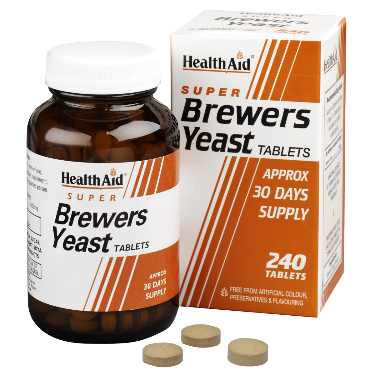 HealthAid Super Brewers Yeast Tablets