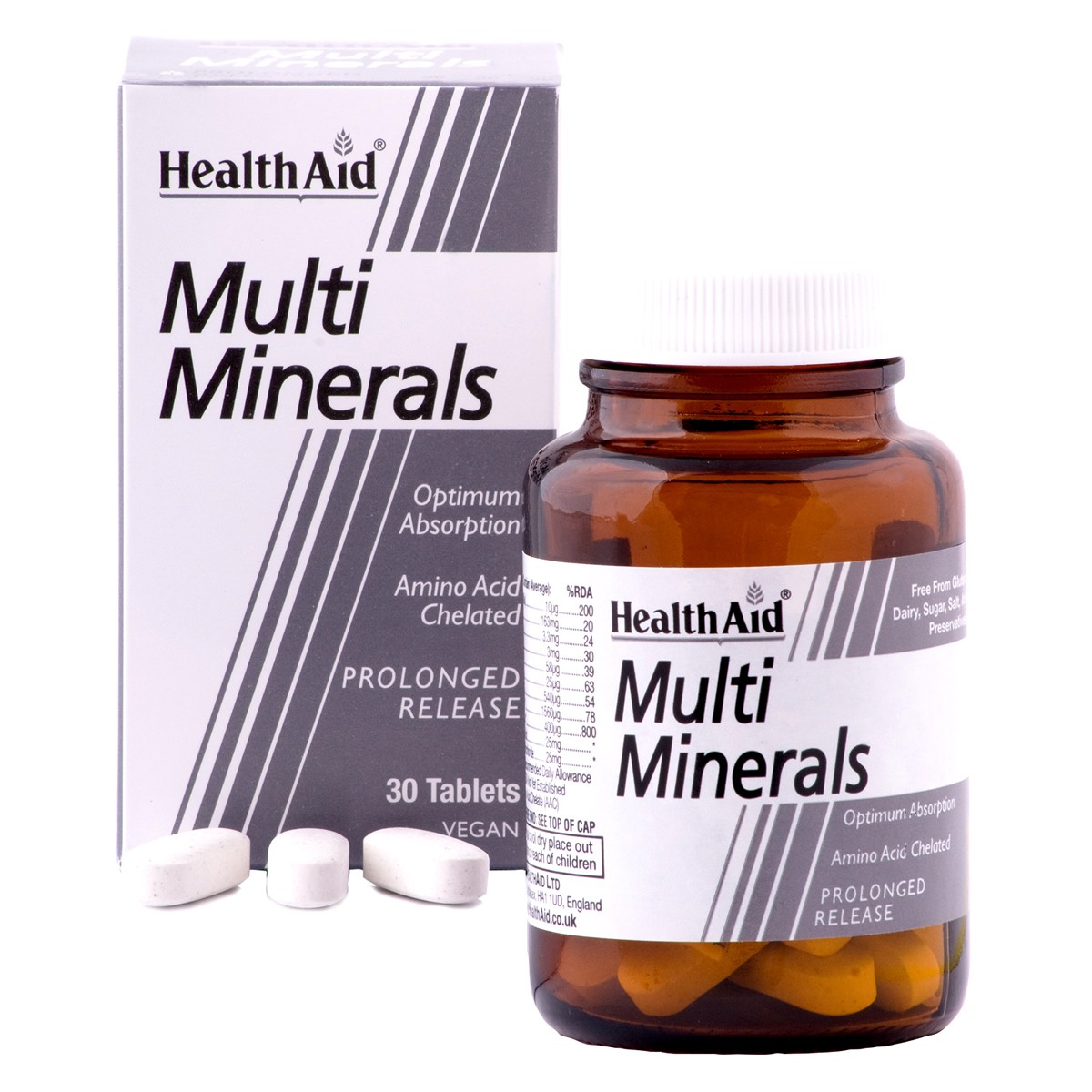 HealthAid Super Multiminerals - Prolonged Release
