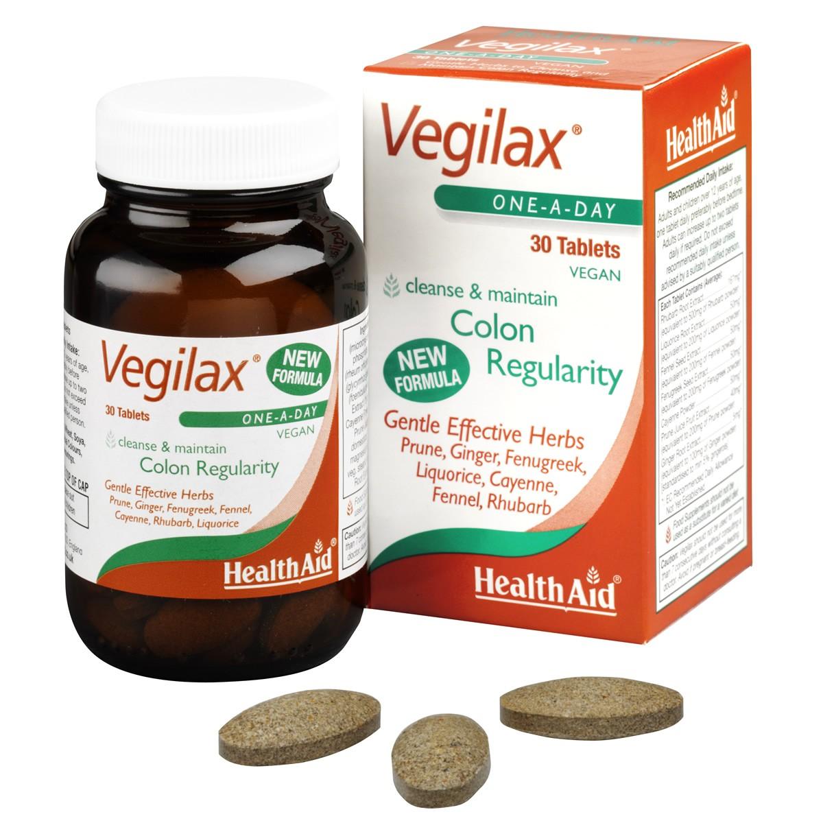 HealthAid Vegilax Tablets