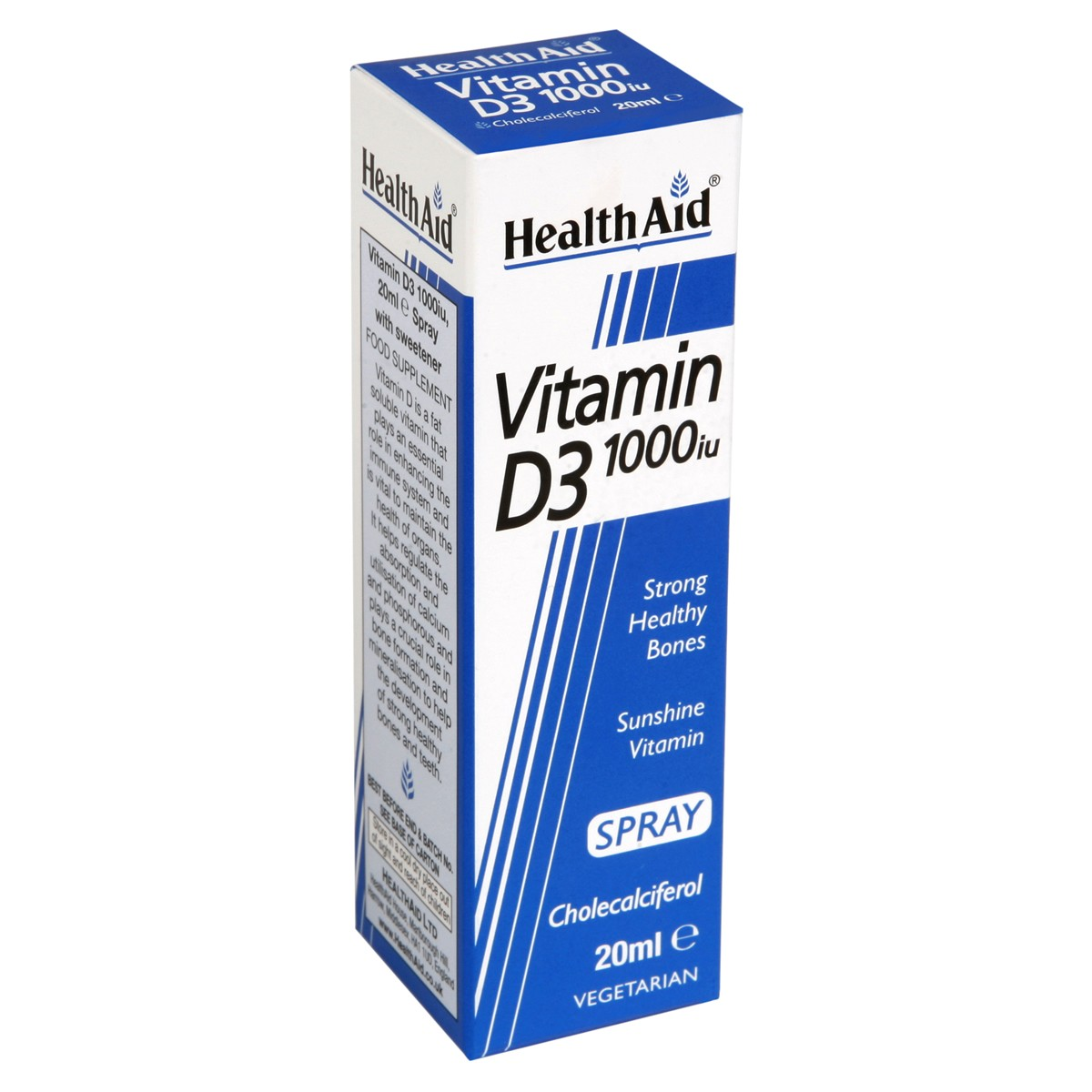 HealthAid Vitamin D3 1000iu Spray