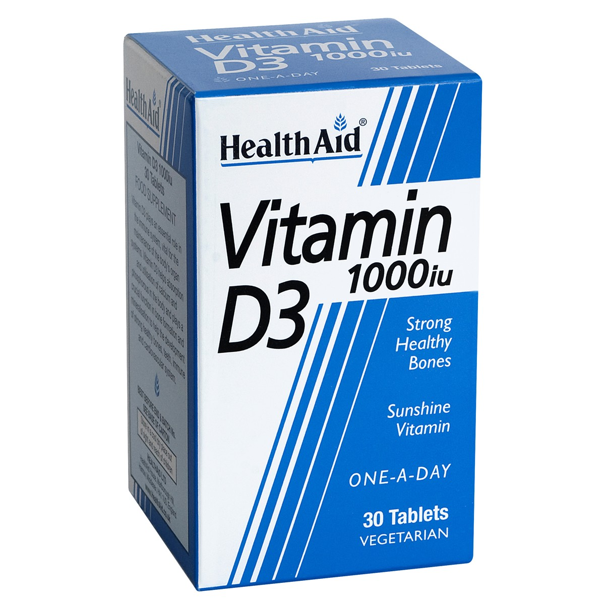 HealthAid Vitamin D3 1000iu Tablets