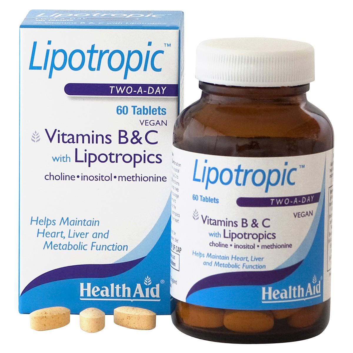 HealthAid Vitamins B & C with Lipotropics