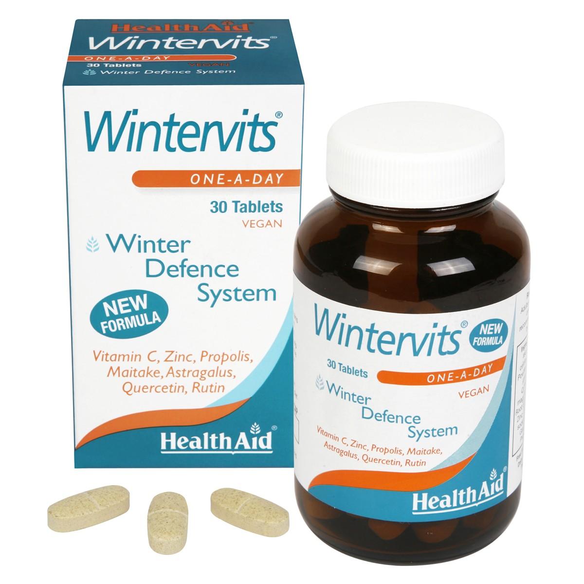 HealthAid Wintervits (Vitamin C, Zinc, Propolis, Maitake++)