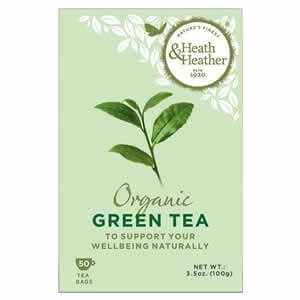 Heath & Heather Organic Green Tea