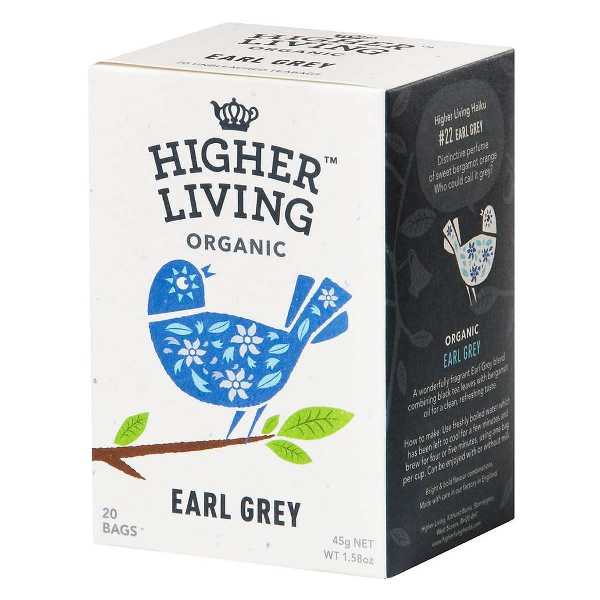 Higher Living Earl Grey Tea