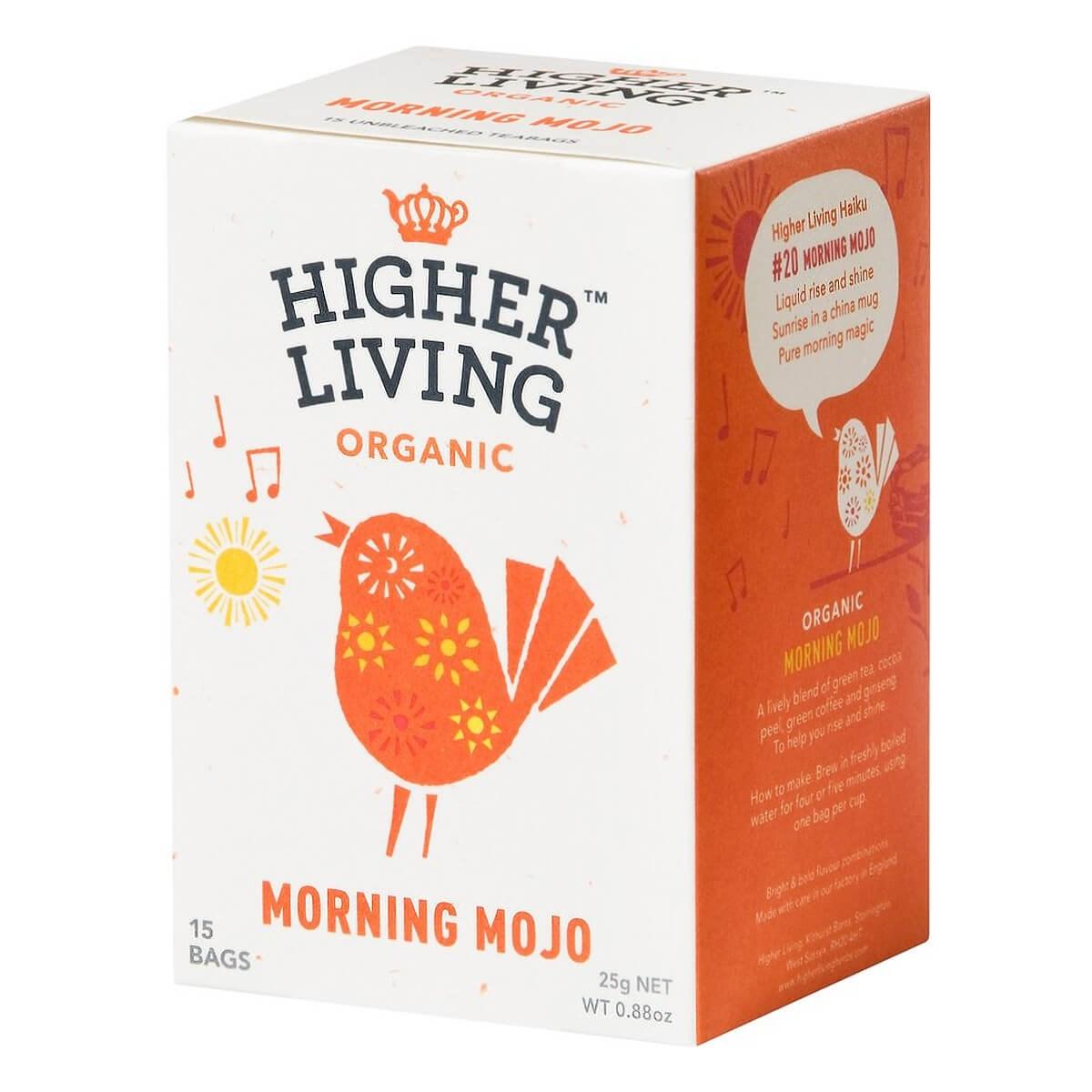 Higher Living Morning Mojo Tea