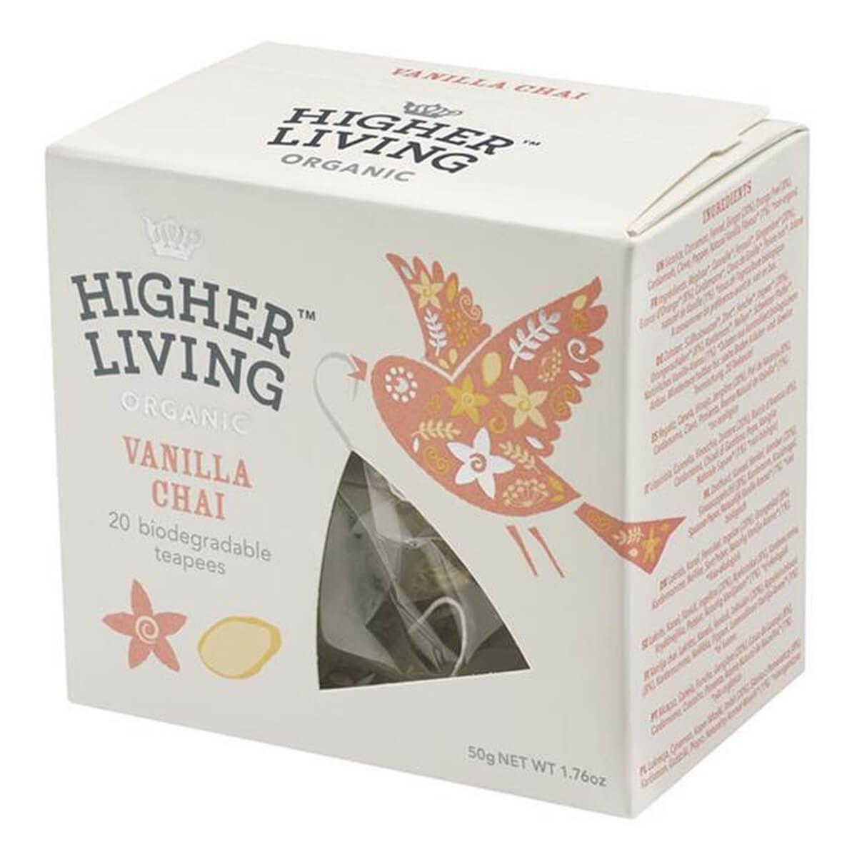 Higher Living Vanilla Chai Infusion Tea