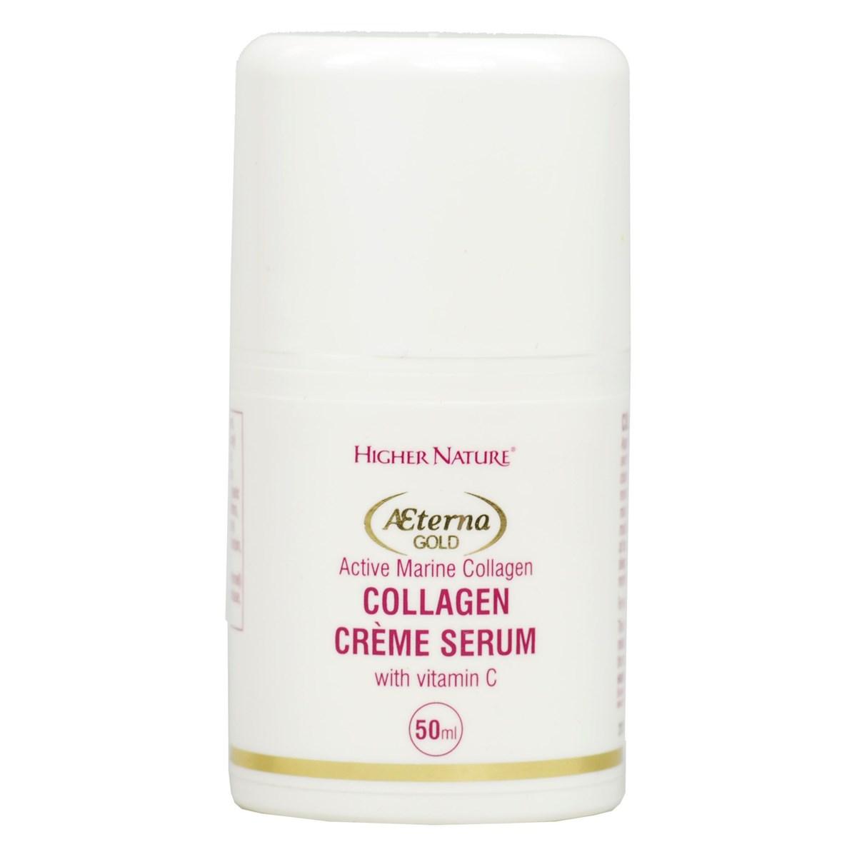 Higher Nature Æterna Gold Collagen Crème Serum