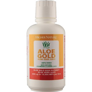 Higher Nature Aloe Gold Cherry/Cranberry
