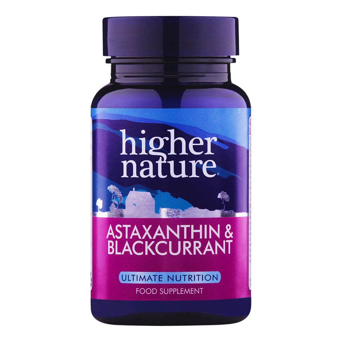 Higher Nature Astaxanthin & Blackcurrant