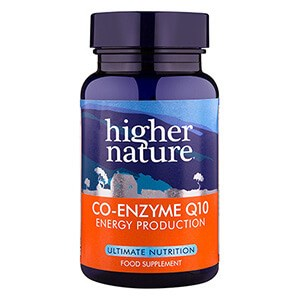 Higher Nature Co-Enzyme Q10 30mg Tablets