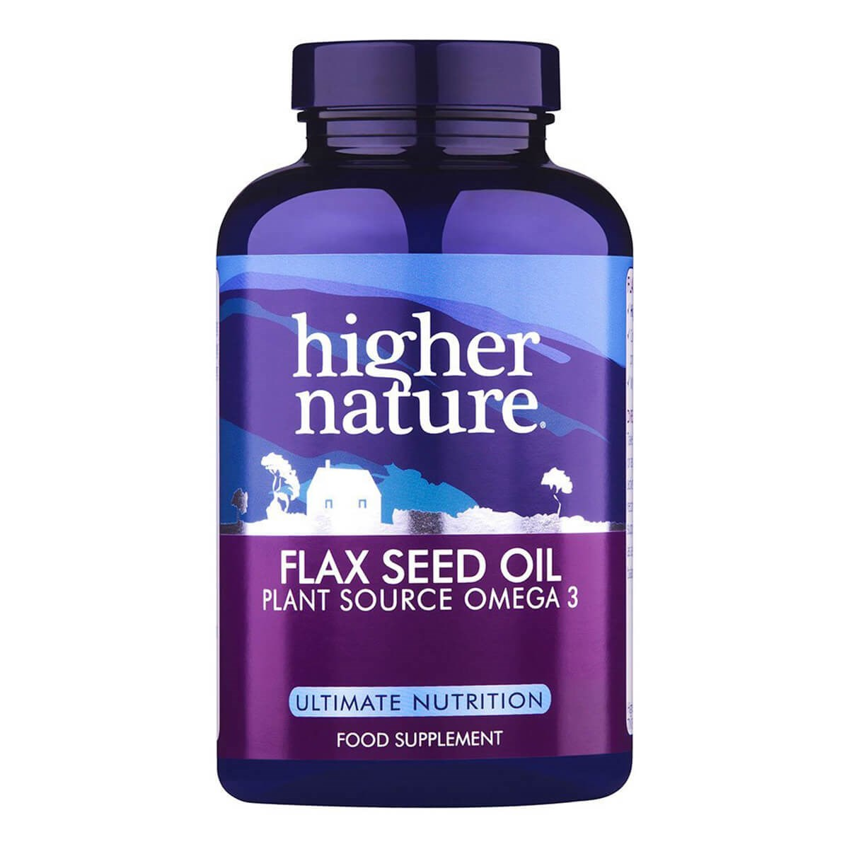 Higher Nature Flax Seed Oil Capsules