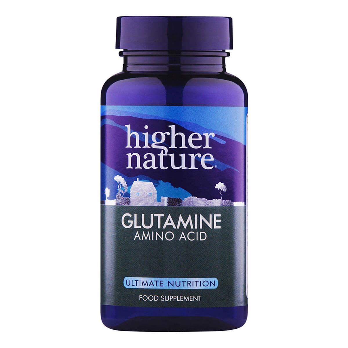 Higher Nature Glutamine Capsules