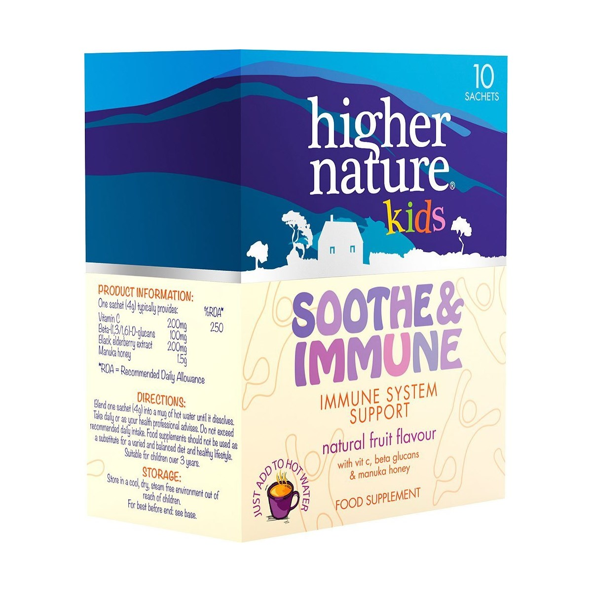 Higher Nature Kids Soothe & Immune