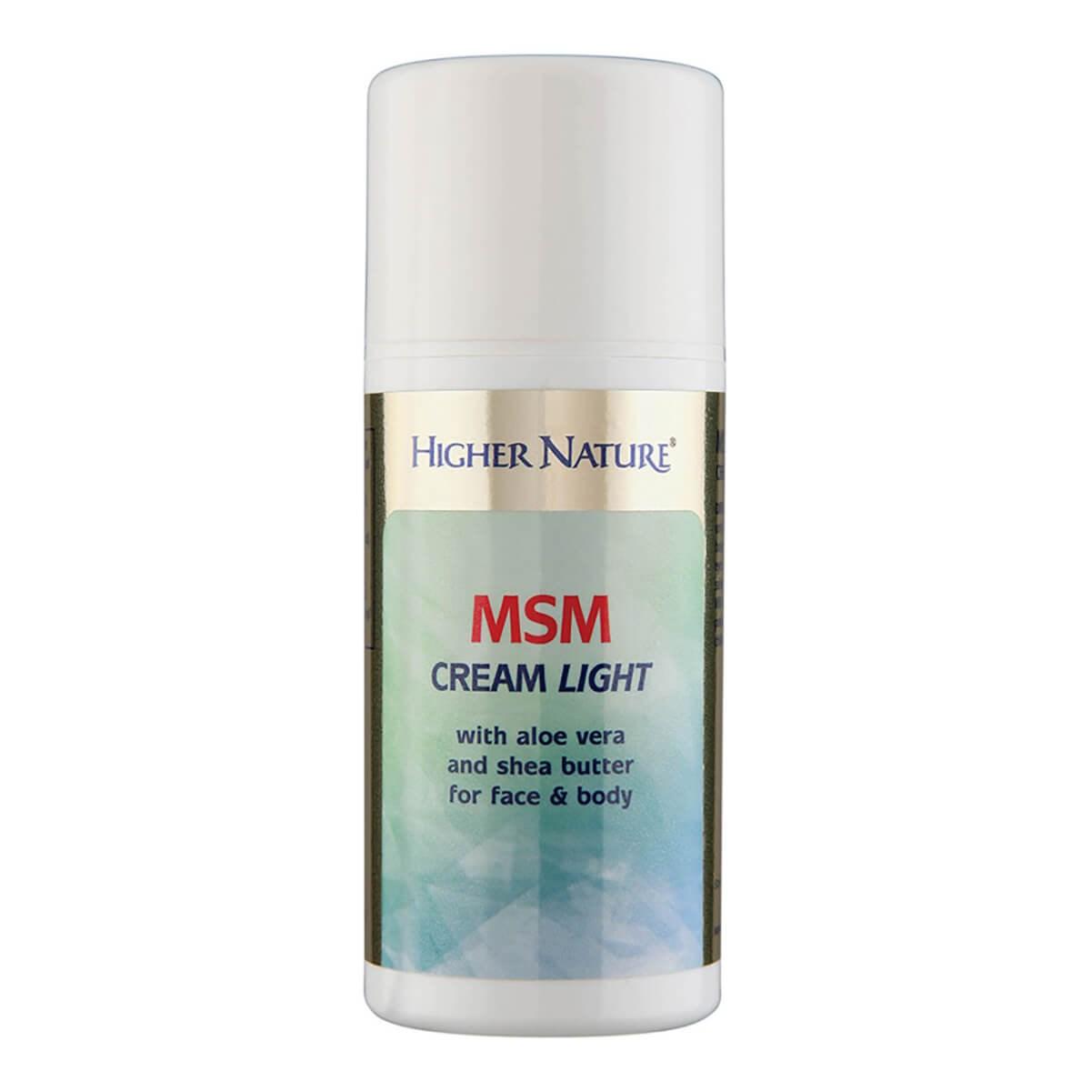 Higher Nature MSM Cream Light