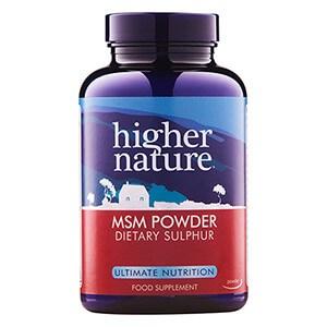 Higher Nature MSM Powder