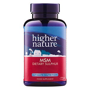 Higher Nature MSM Tablets