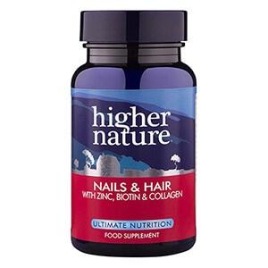 Higher Nature Nails & Hair Formula