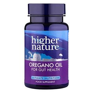 Higher Nature Oregano Oil Capsules