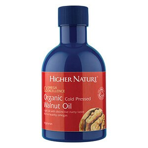 Higher Nature Organic Cold Pressed Walnut Oil