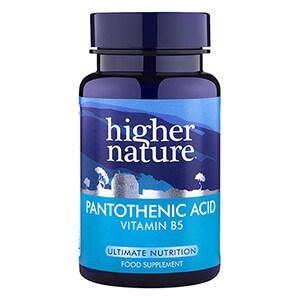 Higher Nature Pantothenic Acid 500mg