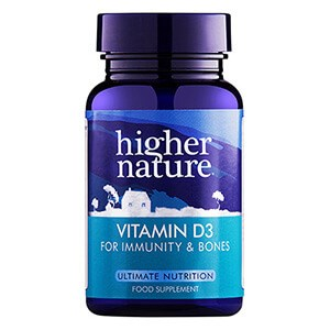Higher Nature Vitamin D3 500iu