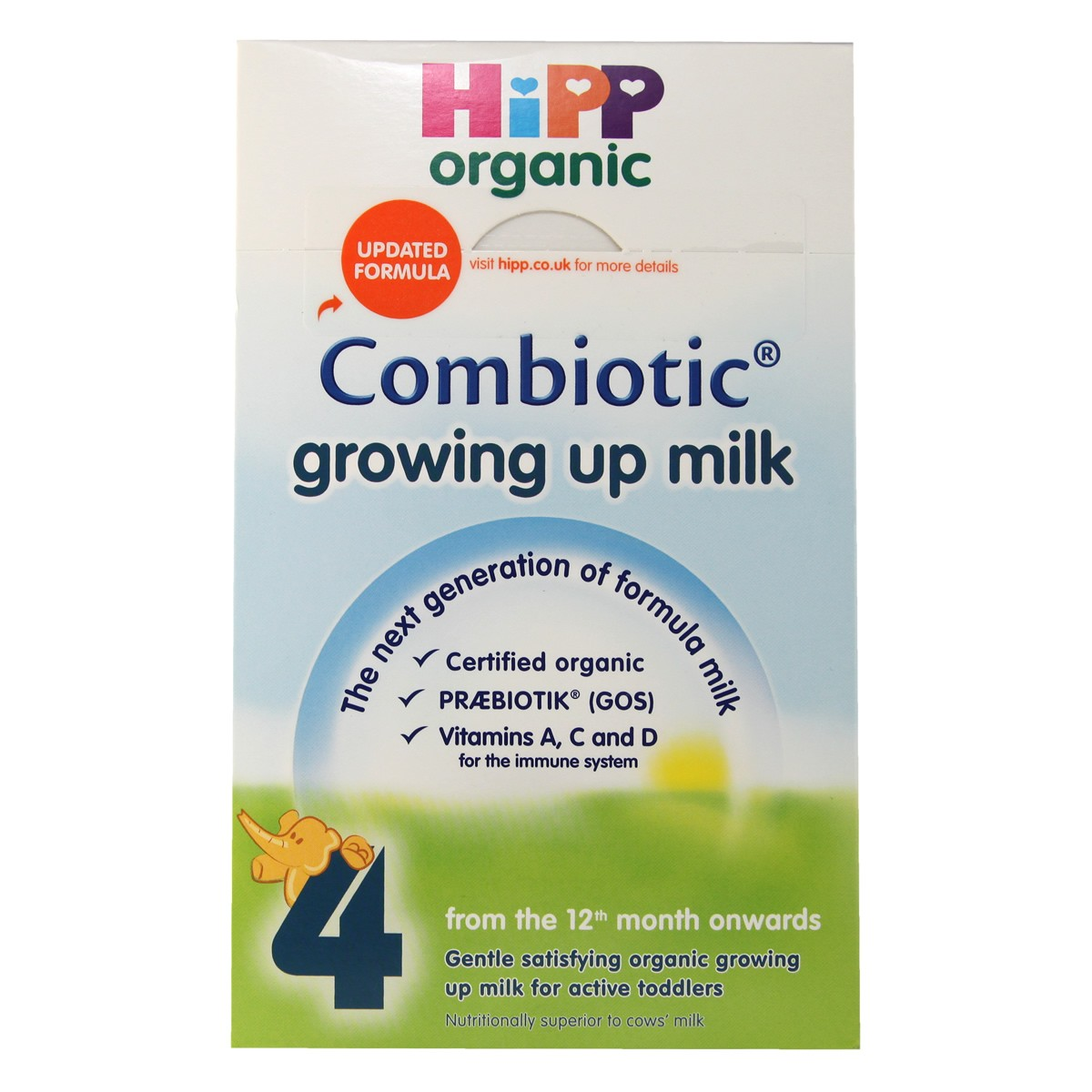 Hipp Organic Combiotic Growing Up Milk 4 (from the 12th month onwards)