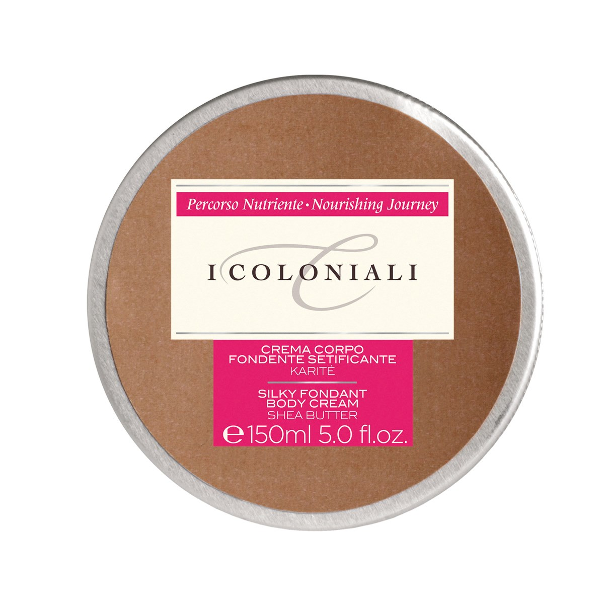 I Coloniali Silky Fondant Body Cream with  Shea Butter