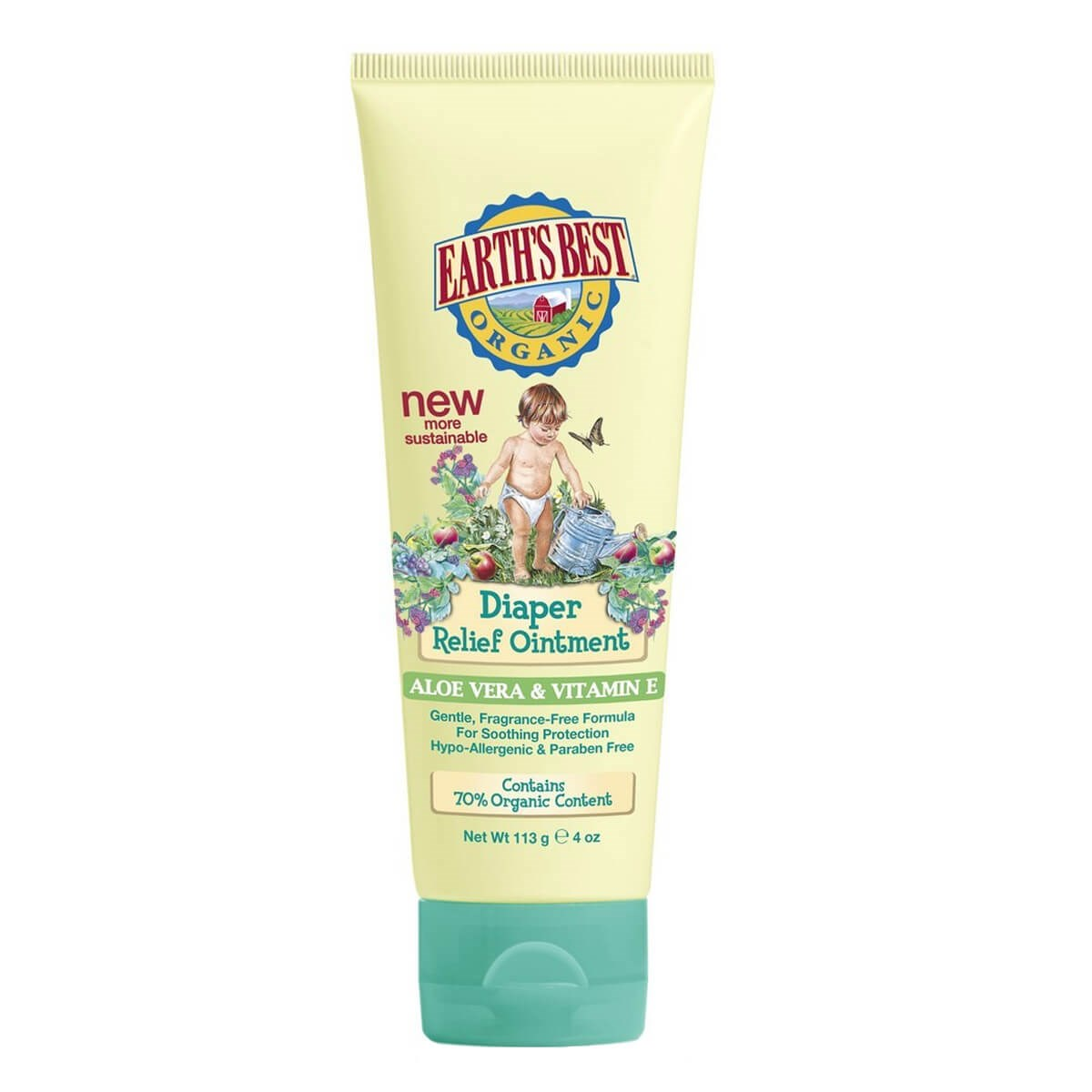 Jason Earth's Best Diaper Relief Ointment