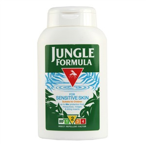 Jungle Formula Insect Repellent Lotion - For Sensitive Skin