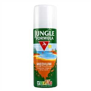 Jungle Formula Insect Repellent Spray - Medium (Factor 3)