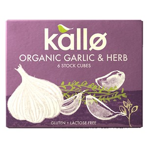 Kallo Organic Garlic & Herb Stock Cubes