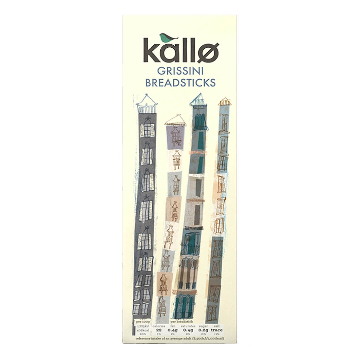 Kallo Organic Grissini Breadsticks Original