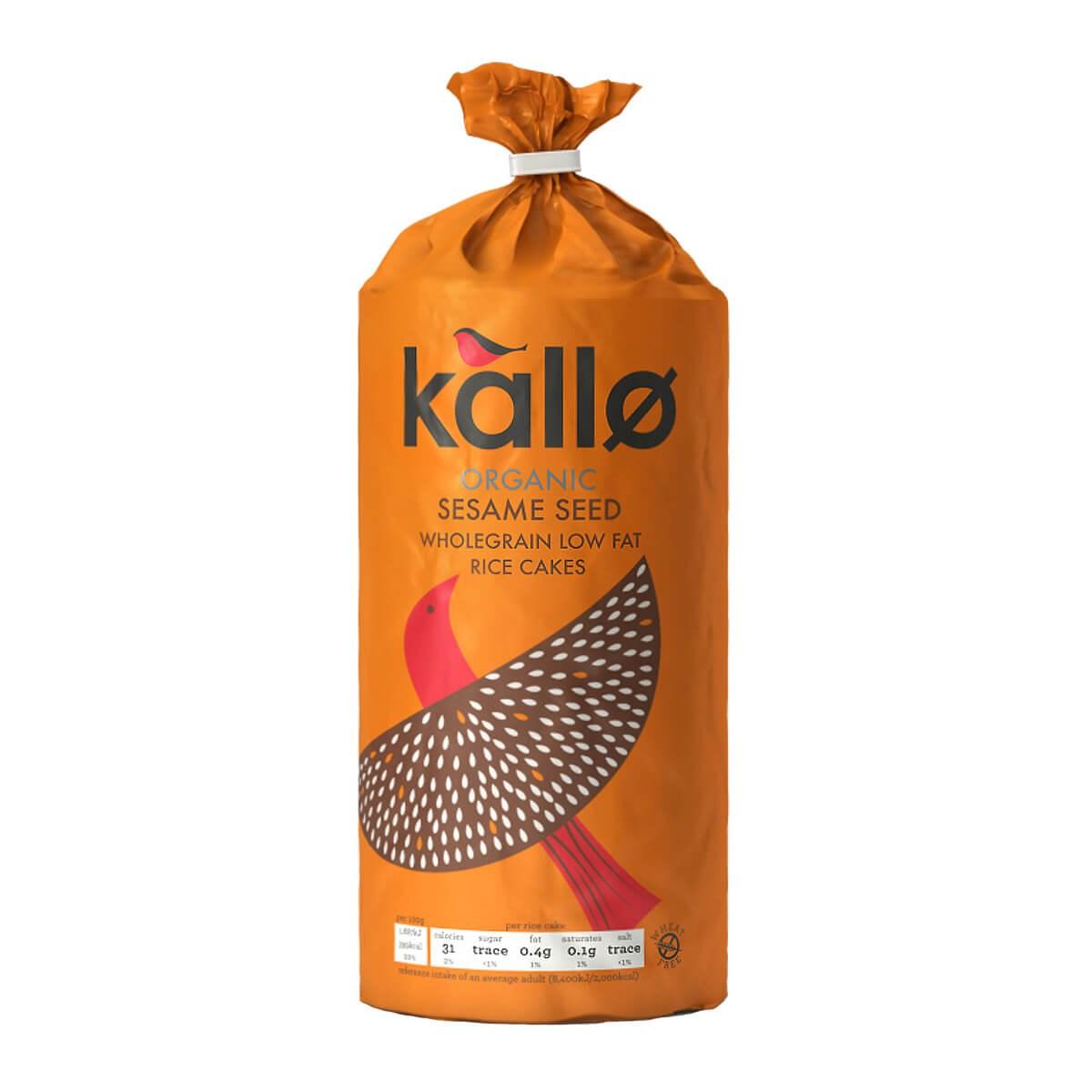 Kallo Organic Sesame Rice Cakes