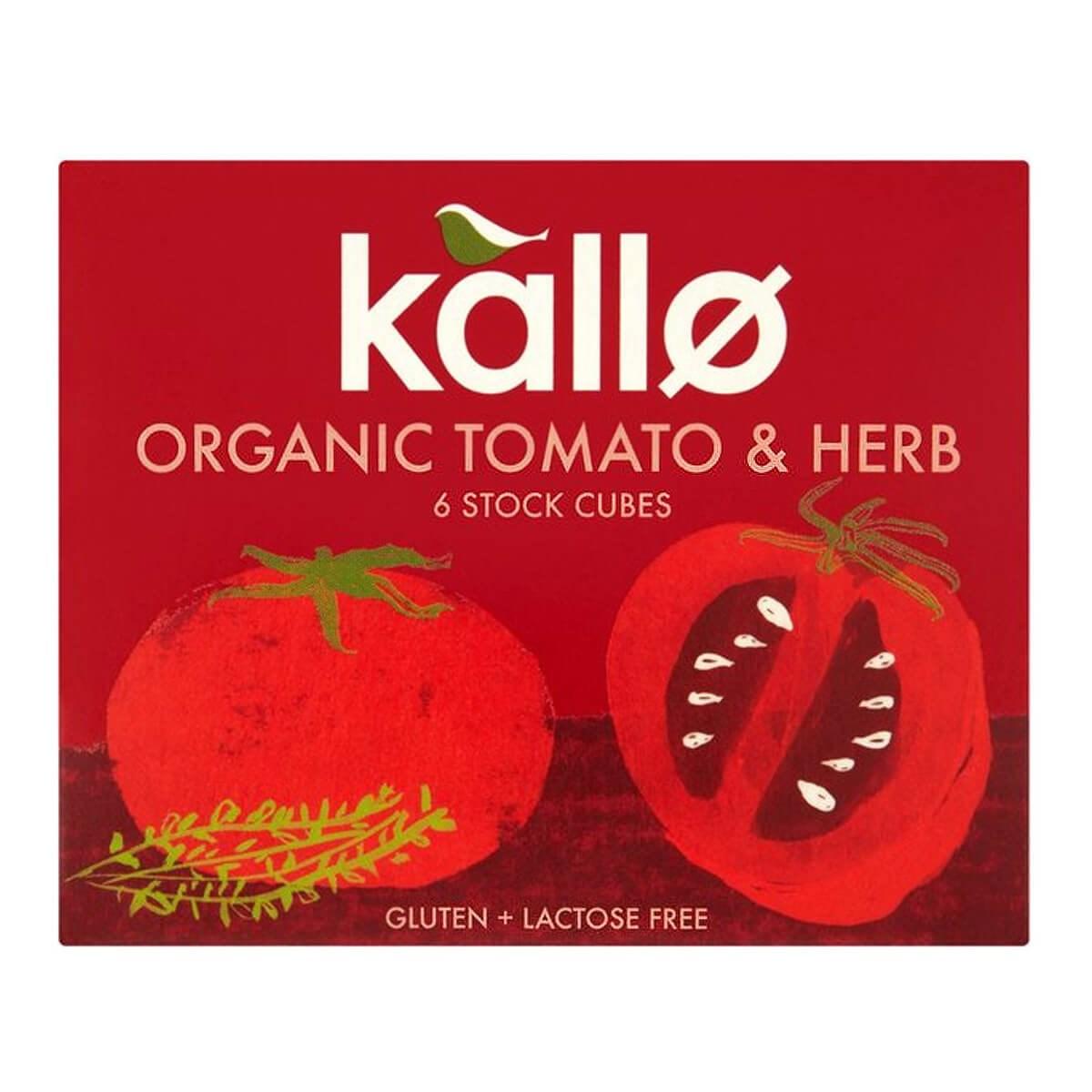 Kallo Organic Tomato & Herb Stock Cubes