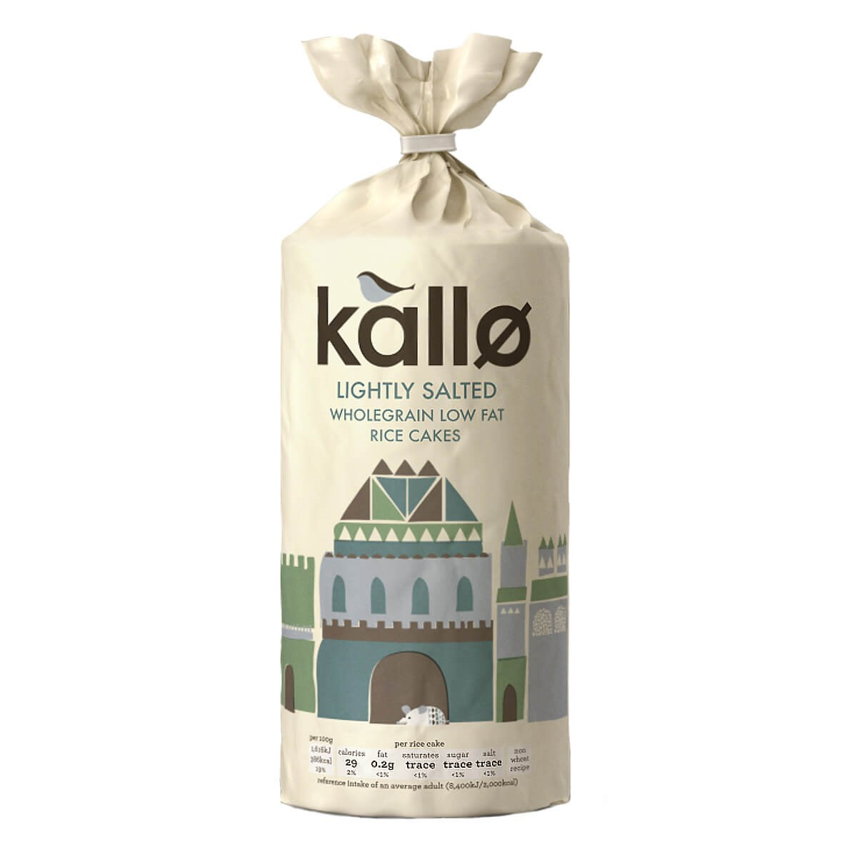 Kallo Lightly Salted Low Fat Rice Cakes