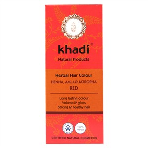 Khadi Herbal Hair Colour - Henna, Amla & Jatropha Red