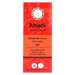 Khadi Herbal Hair Colour - Pure Henna Red
