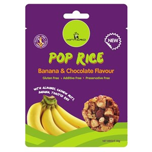 Kintaro Pop Rice Clusters - Banana & Chocolate